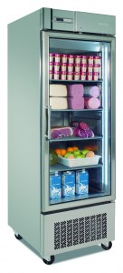 Gastronorm 2/1 Chill & Freezer Glass door